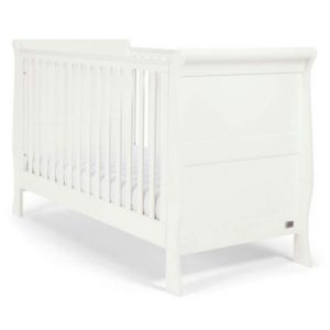 Mia Sleigh Convertible Cot to Toddler Bed - Mamas and Papas
