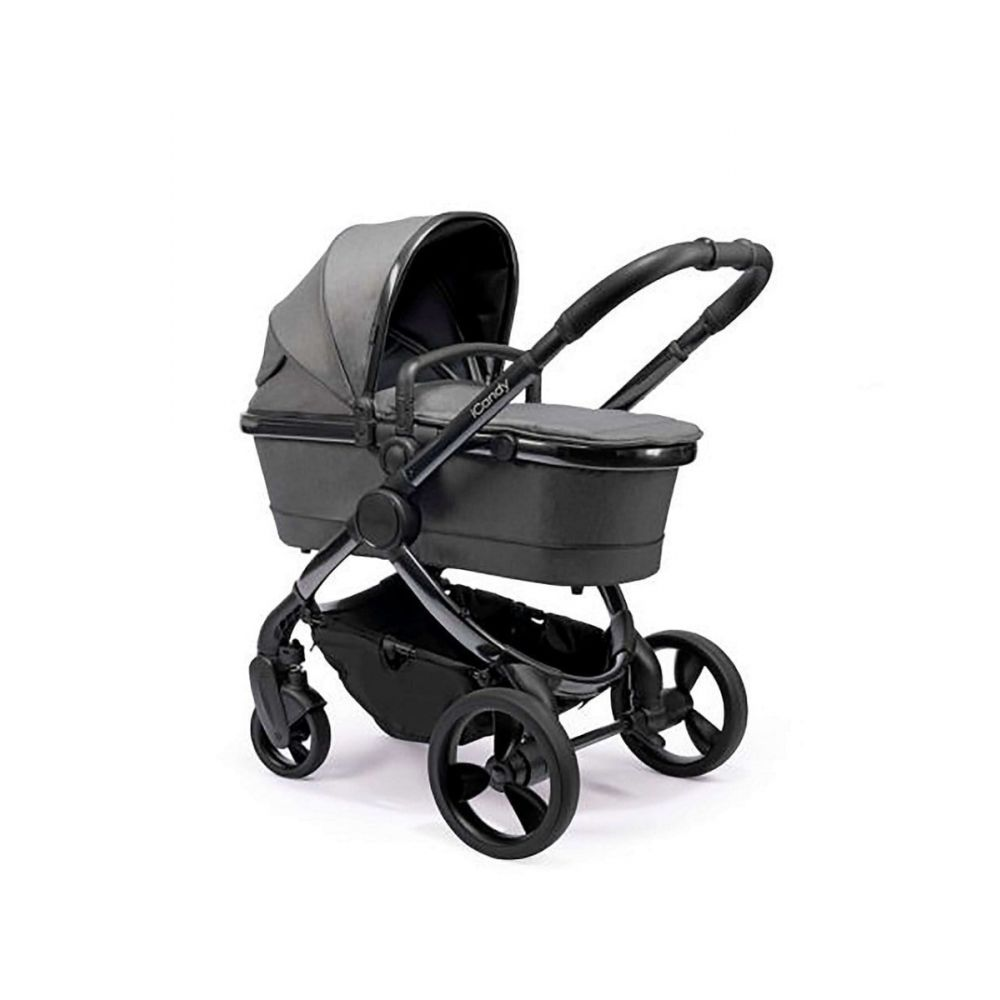 iCandy Peach Pushchair Phantom Dark Grey Twill